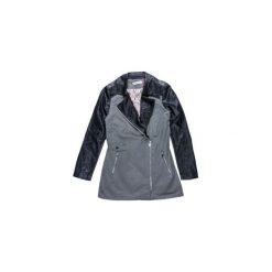 Płaszcze damskie pastelowe: Płaszcz damski z zamkiem