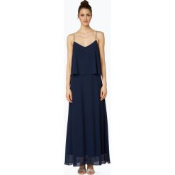 Marie Lund - Damska sukienka wieczorowa, niebieski. Niebieskie sukienki balowe marki Marie Lund, bez rękawów, w kształcie a. Za 199,95 zł.