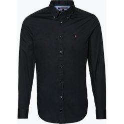 Tommy Hilfiger - Koszula męska, czarny. Czarne koszule męskie na spinki TOMMY HILFIGER, l. Za 299,95 zł.