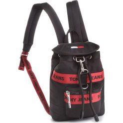 Plecak TOMMY JEANS - Tj Heritage Mini Bac AU0AU00251 902. Czarne plecaki damskie Tommy Jeans, z jeansu, sportowe. Za 449,00 zł.