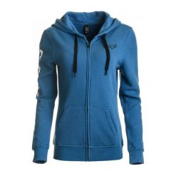 Bluzy rozpinane damskie: FOX Bluza Damska Xs Niebieska