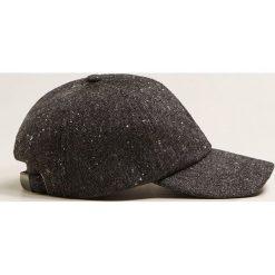 Mango Man - Czapka Brooklyn. Czarne czapki męskie Mango Man. Za 69,90 zł.