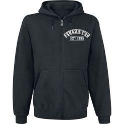 Slipknot Flaming Goat Bluza z kapturem rozpinana czarny. Czarne bluzy męskie rozpinane marki Slipknot, m, z nadrukiem, z kapturem. Za 184,90 zł.