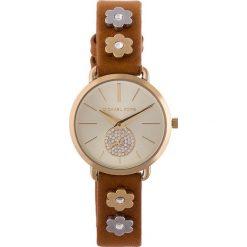 Zegarek MICHAEL KORS - Portia MK2727 Brown/Gold. Brązowe zegarki damskie Michael Kors. W wyprzedaży za 739,00 zł.