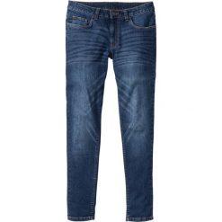 """Dżinsy ze stretchem Skinny Fit Straight bonprix niebieski """"stone used"""". Niebieskie jeansy męskie relaxed fit bonprix. Za 89,99 zł."""
