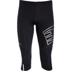 Bryczesy damskie: Newline  Damskie spodnie do biegania 3/4 Compression czarne  r. XL (10419)