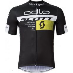 Koszulki do fitnessu męskie: Odlo Koszulka Rowerowa Scott Odlo Team Rep. Stand-Up Collar S/S Zip Scott Odlo 2016 S