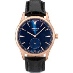 """Zegarki męskie: Zegarek kwarcowy """"Huntington"""" w kolorze czarno-złoto-niebieskim"""