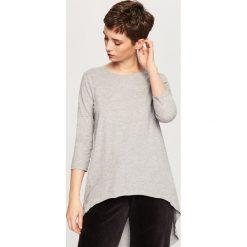 T-shirty damskie: Koszulka z bawełny organicznej - Jasny szar