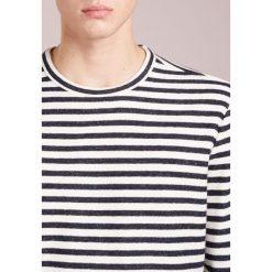 Swetry klasyczne męskie: YMC You Must Create Sweter navy /ecru