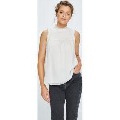 Tommy Jeans - Top. Szare topy damskie marki Tommy Jeans, l, z jeansu. W wyprzedaży za 279,90 zł.
