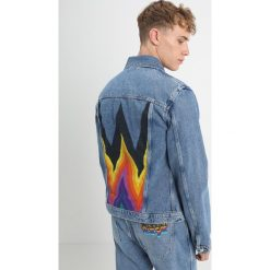 Wrangler RETRO Kurtka jeansowa kabel blue. Niebieskie kurtki męskie jeansowe Wrangler, m, retro. Za 499,00 zł.
