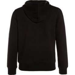 Sisley JACKET HOOD Bluza rozpinana black. Czarne bluzy dziewczęce Sisley, z bawełny. W wyprzedaży za 126,75 zł.