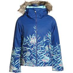 Roxy JET SKI Kurtka snowboardowa sodalite blue/garden party. Niebieskie kurtki chłopięce Roxy, z materiału, narciarskie. W wyprzedaży za 503,20 zł.
