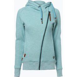 Bluzy damskie: Alife& Kickin - Damska bluza rozpinana – Snakecharmer, niebieski