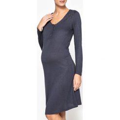 Koszula nocna ciążowa. Niebieskie bielizna ciążowa La Redoute Collections, z dżerseju, moda ciążowa. Za 127,64 zł.