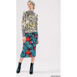 Spódniczki dzianinowe: Spódnica KALEA w liście