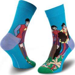 Skarpety Wysokie Unisex HAPPY SOCKS - BEA01-7000 Kolorowy. Czerwone skarpetki męskie marki Happy Socks, z bawełny. Za 39,90 zł.