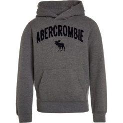 Abercrombie & Fitch CORE  Bluza z kapturem grey. Niebieskie bluzy chłopięce rozpinane marki Abercrombie & Fitch. Za 169,00 zł.
