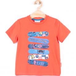 Koszulka. Brązowe t-shirty chłopięce z długim rękawem BOARD KING, z bawełny. Za 27,90 zł.