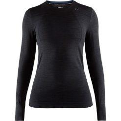 Damska podkoszulka CRAFT Fuseknit Comfort. Czarne podkoszulki damskie marki B'TWIN, l, z elastanu, z długim rękawem. Za 122,99 zł.