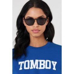 Okulary przeciwsłoneczne damskie aviatory: Cheap Monday Okulary przeciwsłoneczne Cytric – Black