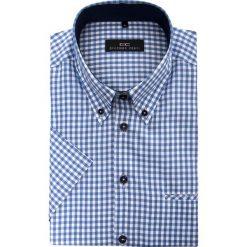 Koszula SERGIO 15-01-58-K. Brązowe koszule męskie na spinki marki QUECHUA, m, z elastanu, z krótkim rękawem. Za 229,00 zł.