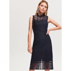 Koronkowa sukienka - Granatowy. Niebieskie sukienki koronkowe marki Reserved. Za 179,99 zł.