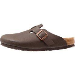 Birkenstock BOSTON Kapcie cocoa brown. Brązowe kapcie męskie Birkenstock, z materiału. W wyprzedaży za 303,20 zł.