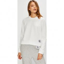 Calvin Klein Jeans - Bluza. Szare bluzy rozpinane damskie Calvin Klein Jeans, l, z bawełny, bez kaptura. Za 359,90 zł.