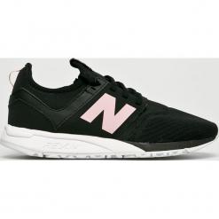 New Balance - Buty WRL247EP. Szare buty sportowe damskie New Balance, z materiału. W wyprzedaży za 349,90 zł.