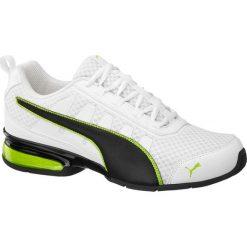 Buty męskie Puma Leader Vt Mesh Puma czarno-białe. Białe buty do biegania damskie marki Puma, z gumy. Za 259,90 zł.