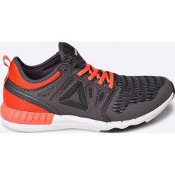 Reebok - Buty Zprint 3D. Czarne buty sportowe damskie Reebok, z materiału. W wyprzedaży za 219,90 zł.