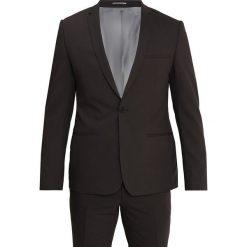 Viggo BERLIN SUIT SLIM FIT Garnitur brown. Brązowe garnitury Viggo, z elastanu. Za 669,00 zł.