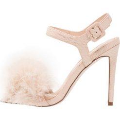 Sandały damskie: Miss Selfridge CECILIA Sandały na obcasie nude