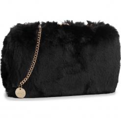 Torebka LIU JO - Minaudiere Fur Bono N68141 E0218 Nero 22222. Czarne torebki klasyczne damskie Liu Jo, z materiału. Za 399,00 zł.