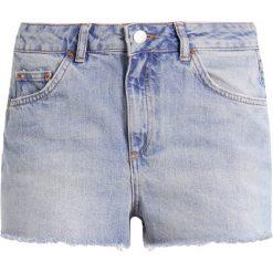 Bermudy damskie: Topshop Petite MOM    Szorty jeansowe blue denim