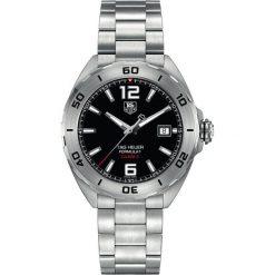 ZEGAREK TAG HEUER Formula 1 Calibre 5 WAZ2113.BA0875. Czarne zegarki męskie marki KALENJI, ze stali. Za 6990,00 zł.