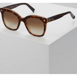 Max Mara DOTS II Okulary przeciwsłoneczne mottled dark brown. Brązowe okulary przeciwsłoneczne damskie aviatory Max Mara. Za 799,00 zł.