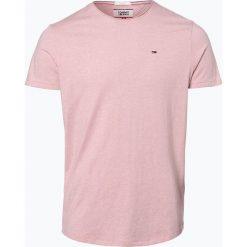 T-shirty męskie: Tommy Jeans - T-shirt męski, różowy