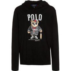 Polo Ralph Lauren HOOD Bluzka z długim rękawem black. Niebieskie bluzki dziewczęce bawełniane marki Adidas, z kontrastowym kołnierzykiem, z krótkim rękawem. Za 189,00 zł.