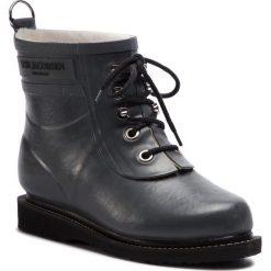 Kalosze ILSE JACOBSEN - RUB2 Grey 06. Brązowe buty zimowe damskie marki Alma en Pena, z materiału, na obcasie. W wyprzedaży za 409,00 zł.