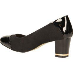 CZÓŁENKA SERGIO LEONE 3830. Czarne buty ślubne damskie Casu. Za 89,99 zł.