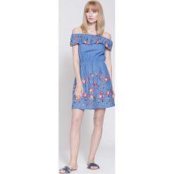 Sukienki: Niebieska Sukienka  Destiny Place