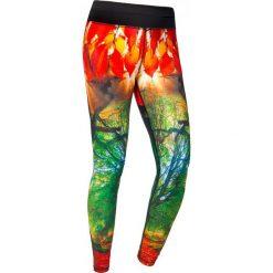 Spodnie damskie: Feelj Legginsy damskie termiczne Autumn wielokolorowe r. S