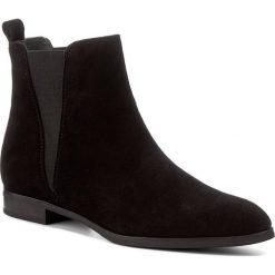 Sztyblety GINO ROSSI - Alba DSH484-S48-4900-9900-0 99. Czarne buty zimowe damskie marki Gino Rossi, ze skóry, na obcasie. W wyprzedaży za 279,00 zł.