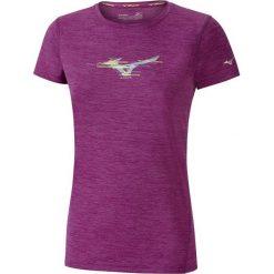 Mizuno Koszulka Imp Core Graphic Tee Clover Mel M. Fioletowe bluzki sportowe damskie Mizuno, m, z krótkim rękawem. W wyprzedaży za 99,00 zł.