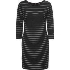 Sukienki balowe: Sukienka w paski bonprix czarno-biały