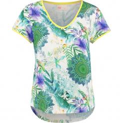 """Koszulka """"Viridi"""" w kolorze zielonym ze wzorem. Zielone t-shirty damskie Hip, xs. W wyprzedaży za 136,95 zł."""