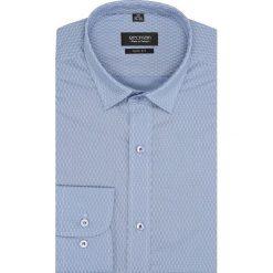 Koszula versone 2553 długi rękaw slim fit niebieski. Czerwone koszule męskie slim marki Recman, m, z długim rękawem. Za 179,00 zł.
